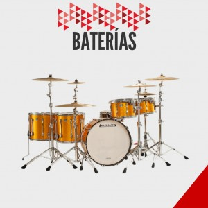 Baterias Ludwig- Distribuidor Autorizado- Capital Music- Madero 225-Centro
