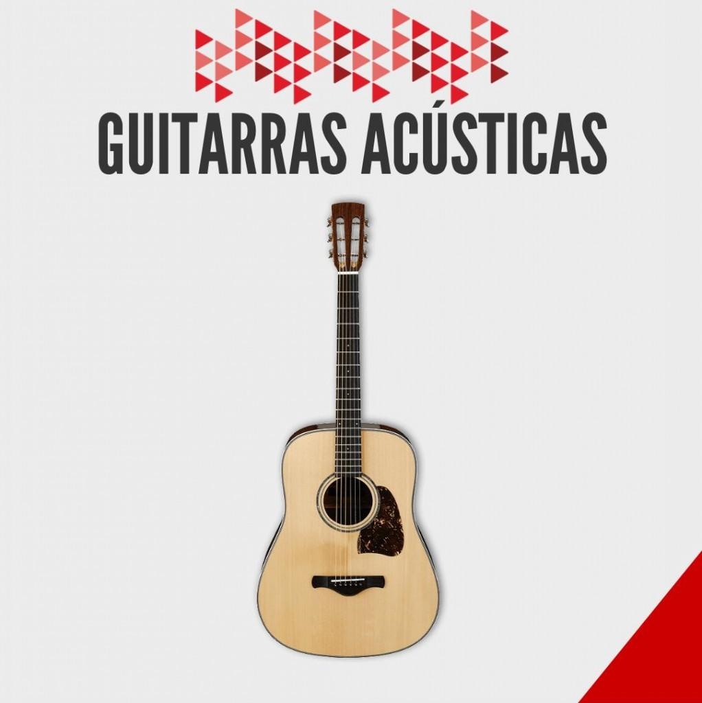 Guitarras Acústicas- Ibañez y Fender