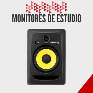 Monitores para Estudio- Promociones- Retailer en instrumentos musicales