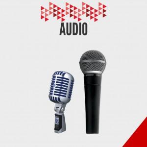 Productos de Audio Electrónico- Shure- Microfonos antiguos- Guadalajara-Mexico